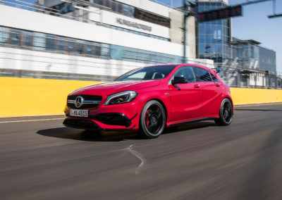 PTD_Mercedes_Benz_Compact_Cars_Hungary_2017, Mercedes-AMG A45 4MATIC