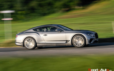 ESSAI BENTLEY NEW CONTINENTAL GT – PRIME TIME!