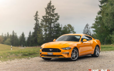 ESSAI FORD MUSTANG 5.0L GT V8 FASTBACK MY2018