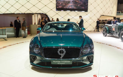 GENÈVE 2019 – BENTLEY CONTINENTAL GT NUMBER 9 EDITION