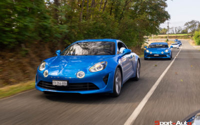 ROADTRIP – DE LA ROUTE AU CIRCUIT EN ALPINE A110