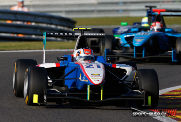 GP3 – Spa – Alex Fontana au pied du podium