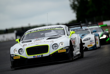 Harold Primat and Bentley Team HTP again denied Blancpain Endurance Series finish