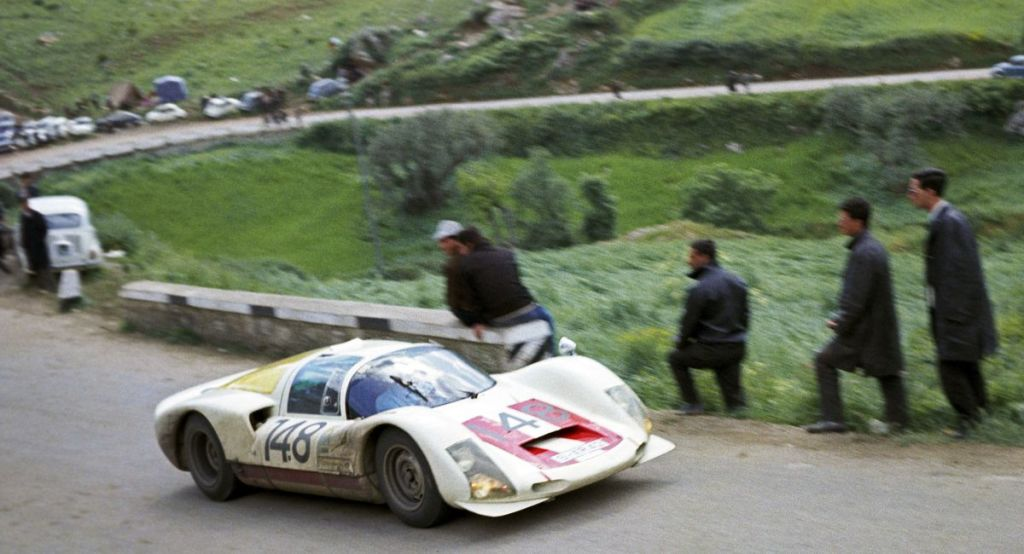 07-Victoire absolue de Herbert Müller en 1966@Photo Porsche