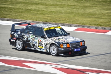 ADAC 24h Classic – Mercedes-AMG DTM driver Daniel Juncadella starts in the EVO II in the Youngtimer Trophy
