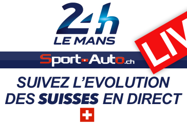 LIVE – 24h Mans 2016 – La course des Suisses en direct….