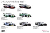 Pure racing atmosphere at Audi's record appearance at the Nürburgring