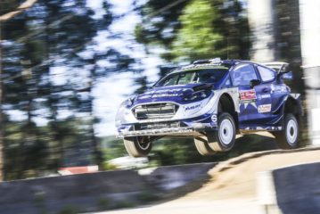 WRC – Tanak leads the way