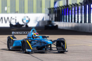 09 BUEMI Sebastien (che) Formula E team Renault E.DAMS action during the 2017 Formula E championship, at Berlin, Germany, from june 9 to 11 - Photo Clement Luck / DPPI