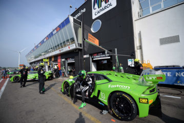 GRT Grasser Racing Team Defends the Lead in the Blancpain-GT-Serie at Zolder