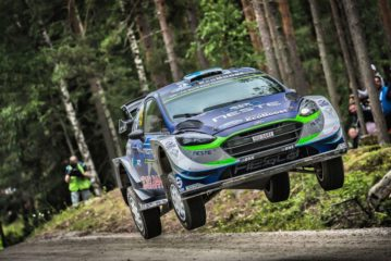 Mixed emotions for M-Sport as Suninen shines in Finland