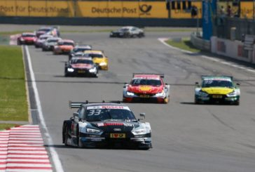 """DTM –  Rast in front of """"Rocky"""": Audi with one-two win in Moscow"""