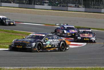 Maro Engel sensationally takes his first DTM race win in Moscow