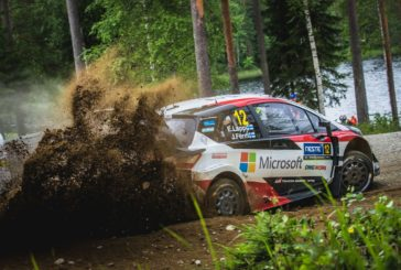 Toyota Gazoo Racing World Rally Team first and second in Finland