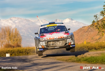 Chewon Lim scores top five times at Rallye International du Valais