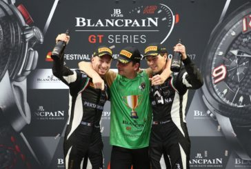 Bortolotti, Engelhart and Grasser Racing Team 2017 Blancpain GT Series champions