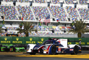 Hugo de Sadeleer and the United Autosport 4th in Daytona