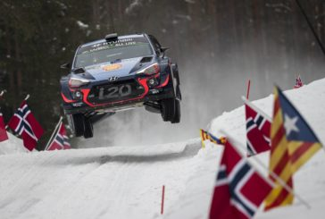 Hyundai Motorsport has ended the first full day of action at Rally Sweden, holding an encouraging 1-2-3 overall