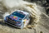 Ogier in the mix at Rally Mexico