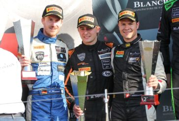 Podium for Patric Niederhauser in Blancpain Endurance Series