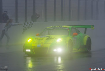 Porsche 911 GT3 R wins the long distance thriller in the Eifel