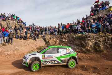 Škoda's Pontus Tidemand aiming for hat-trick victory in WRC 2 category