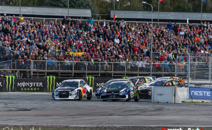 WRX – Another podium finish for EKS Audi Sport in Riga