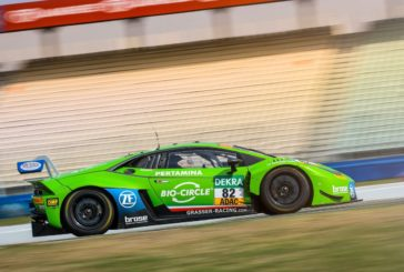 The GRT Grasser Racing Team Claims Final Podium of  the ADAC GT Masters Season