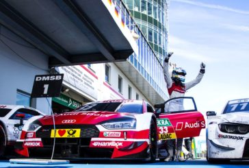 Two poles, two wins: Audi driver René Rast achieves the perfect DTM weekend