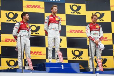No lack of action at Spielberg: René Rast claims third consecutive DTM race win