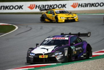 Three BMW M4 DTMs score points in Sunday's Spielberg race
