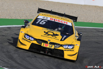 Third place for Timo Glock and BMW in the penultimate DTM race of the year at Hockenheim