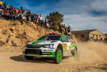Škoda youngster Rovanperä second in tense fight at WRC 2 top