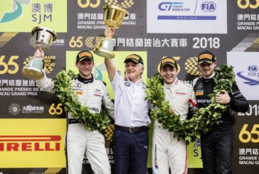 Edoardo Mortara third in 2018 FIA GT World Cup at Macau