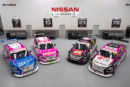 Nissan Motorsport changes its colours for Breast Cancer Network Australia in Newcastle