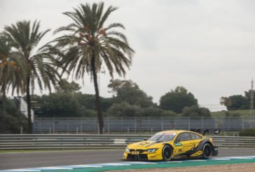 BMW M Motorsport attends three-day DTM Young Driver Test at Jerez de la Frontera