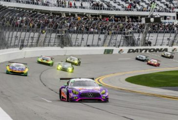 Mercedes-AMG with seventh place in turbulent and rainy IMSA season opener at Daytona