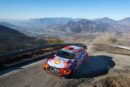 Thierry Neuville finished Friday's stages just two seconds from leader Sébastien Ogier