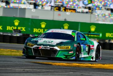 Second place for Audi and Ricardo Feller at Daytona
