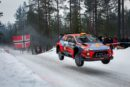 WRC – Andreas Mikkelsen holds third overall, 17.8-seconds from leader Teemu Suninen