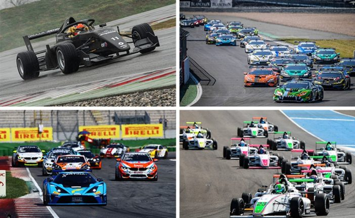Blancpain GT Series reveals exciting 2019 support series line-up