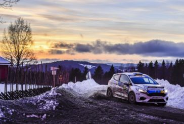 FIA Junior WRC – Tom Kristensson leading Rally Sweden