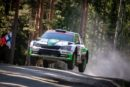 ŠKODA Motorsport's Kalle Rovanperä chases lead in WRC 2 Pro category