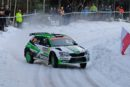 Škoda Motorsport's Kalle Rovanperä fought back to second in WRC 2 Pro