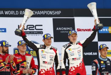WRC –  Tänak and the Toyota Yaris WRC triumph in Sweden
