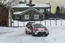 WRC –  Toyota Yaris WRC drivers battle for the lead on snow, ice and gravel