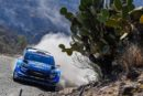 WRC – Evans holds second in Mexico