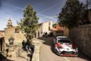 The Toyota Yaris WRC takes on the twisting turns of Corsica