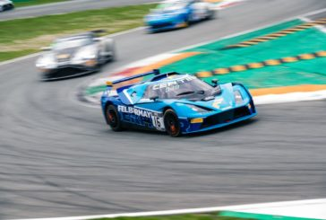 Patric Niederhauser finishes fourth in heavy rain at Monza