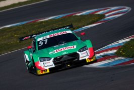 New Audi RS 5 DTM leaves strong impression